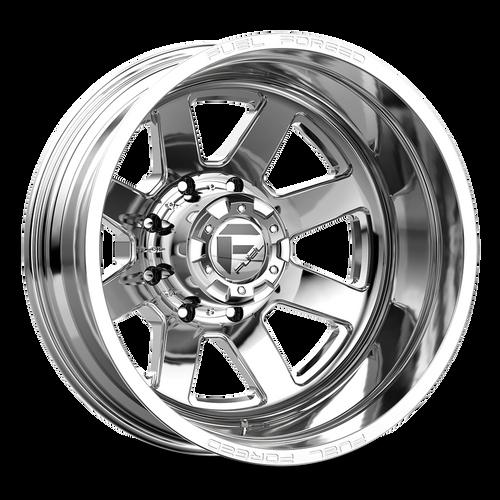 20 x 8.25 Fuel FF09D Polished Rear 8 Lug