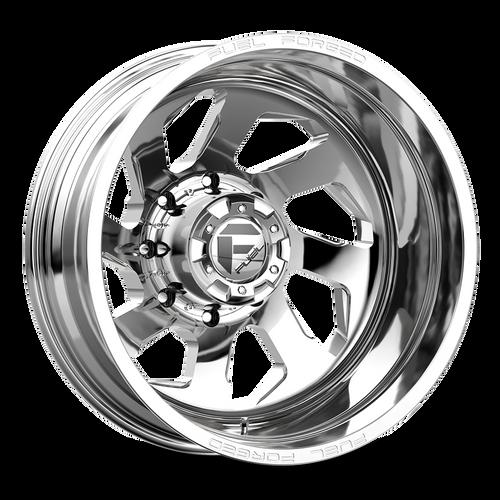 20 x 8.25 Fuel FF39D Polished Rear 8 Lug
