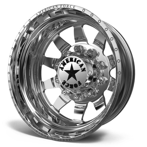 22.5 x 8.25 American Force 11 Independence Polished Rear