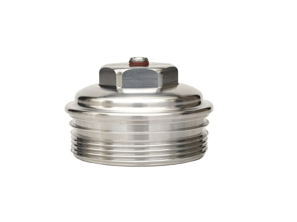 Bean Machine 03-07 6.0 Billet Upper Fuel Filter Cap (6.0 Small)