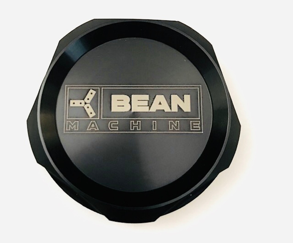 Bean Machine Cummins Anodized Push On Oil Cap Cover - Round