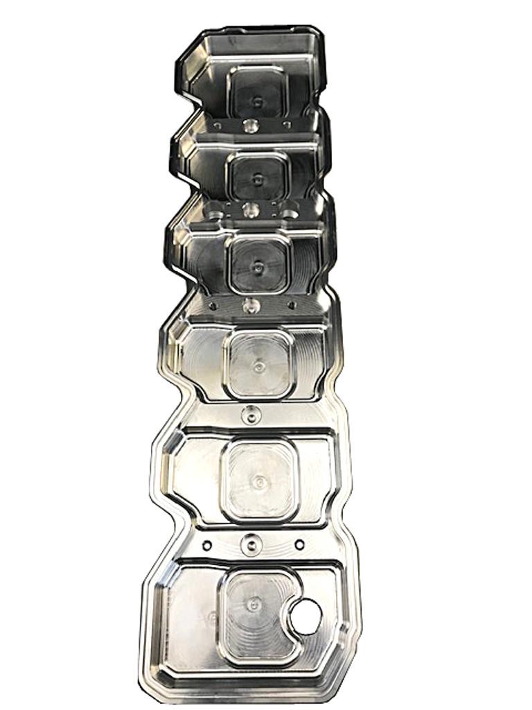 Bean Machine 03-05 Cummins Billet FLAT Top Valve Cover W/ Dual CCV Outlets With Oil Cap Cover