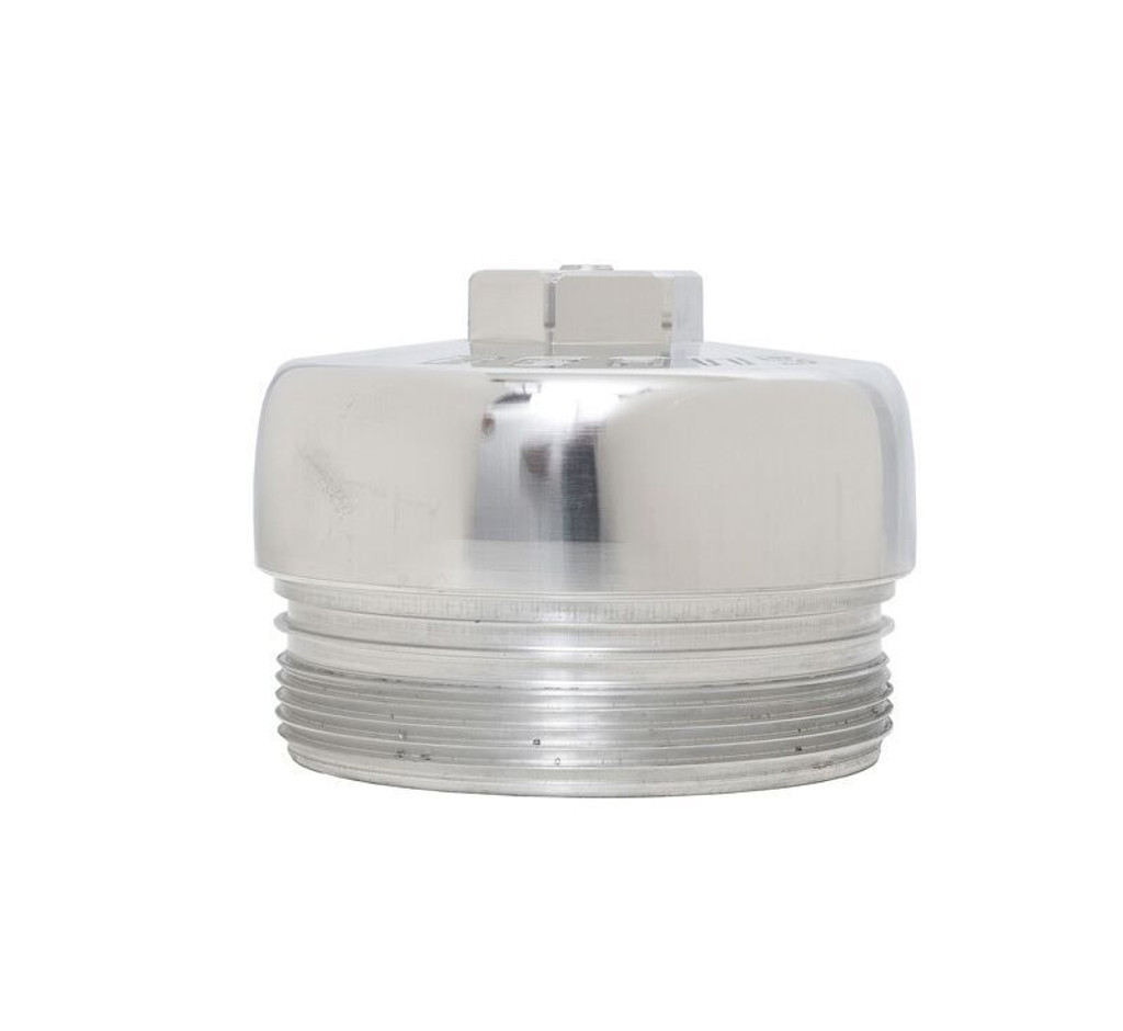 Bean Machine Billet 6.4L Power Stroke Upper Fuel Filter, Lower Fuel Filter, and Oil Filter Cap Kit