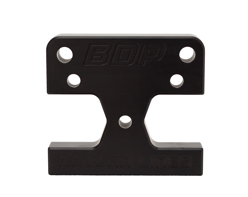 DISCONTINUED Bean Machine 03-09 Cummins Factory Fuel Bowl Delete Block with Extra Return Ports