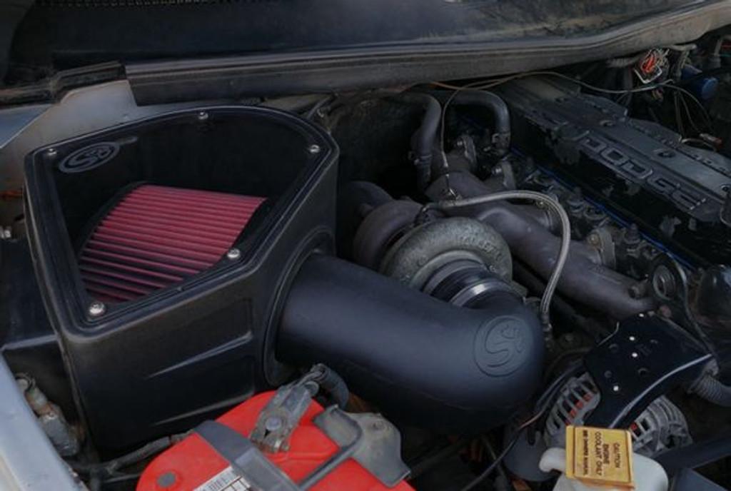 94 02 Dodge Ram 2500 3500 L6 5 9l Cummins S B Cold Air Intake