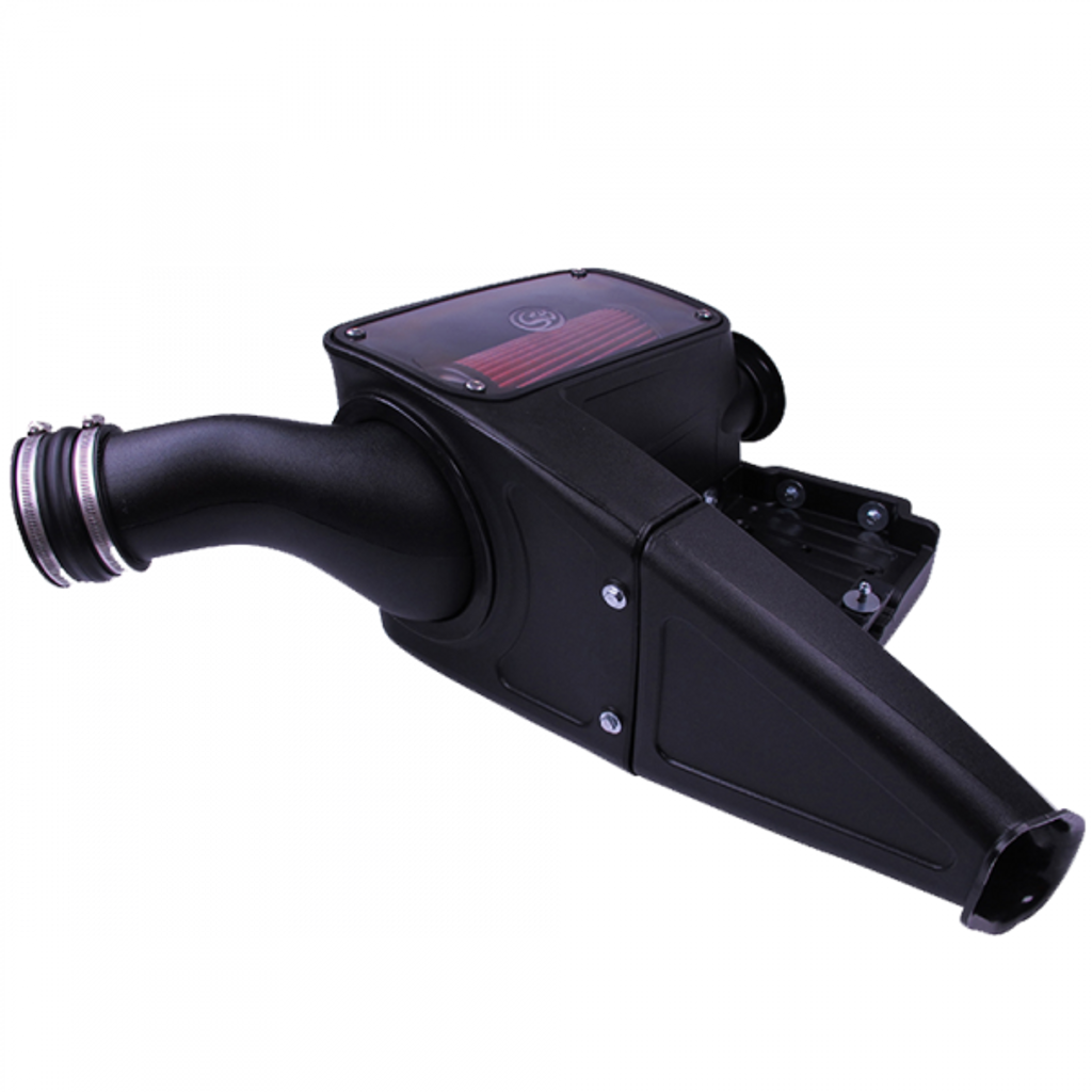 98-03 Ford F250 / F350 / F450 / F550 V8-7.3L Powerstroke S&B Cold Air Intake (Cotton Filter)