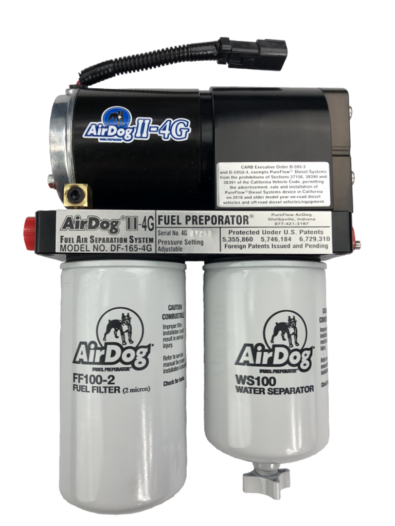 AirDog II-4G, DF-165-4G 2001-2010 Chevy Duramax with Beans Multifunction Deluxe Sump Kit