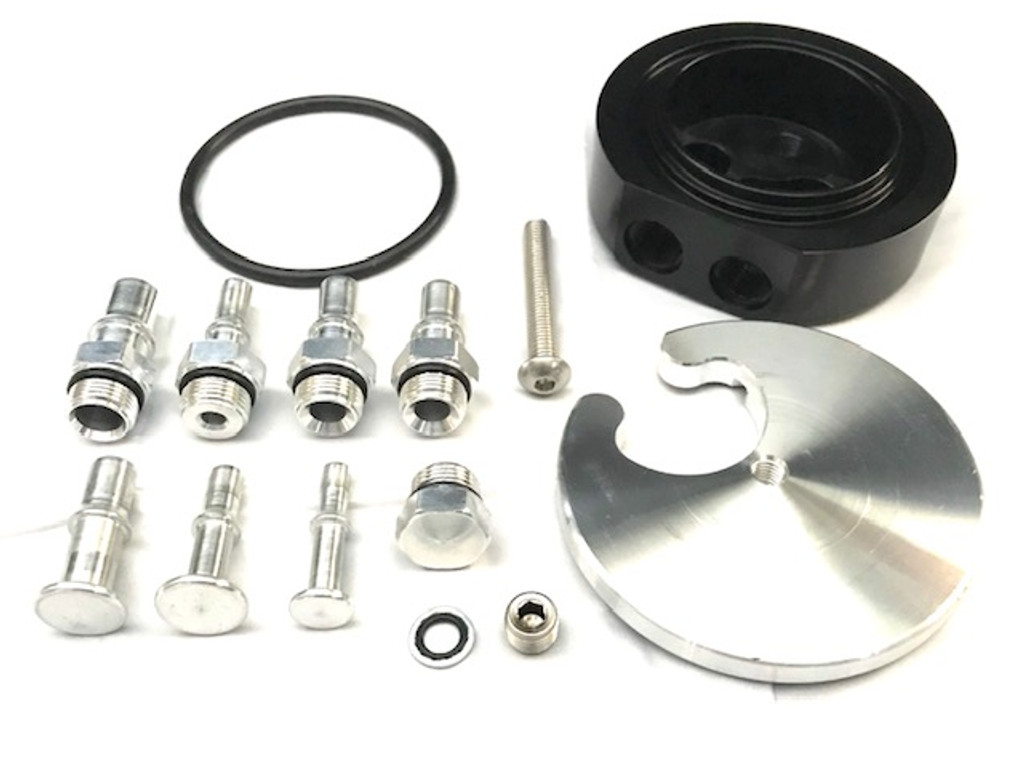 FASS Titanium Signature Series Diesel Fuel Lift Pump 100GPH GM 6.6L Duramax 2011-2014 with Beans Multifunction Deluxe Sump Kit