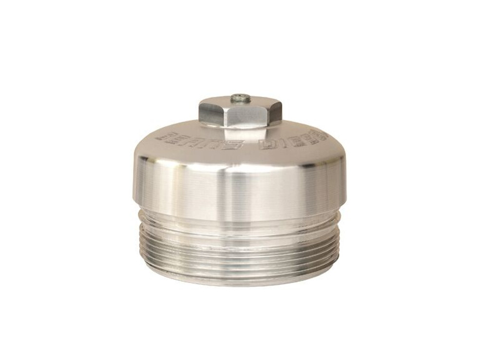 Bean Machine Billet Cap Fits 6.0/6.4 Power Stroke Oil Filter and 6.0/6.4 Power Stroke Lower Fuel Filter