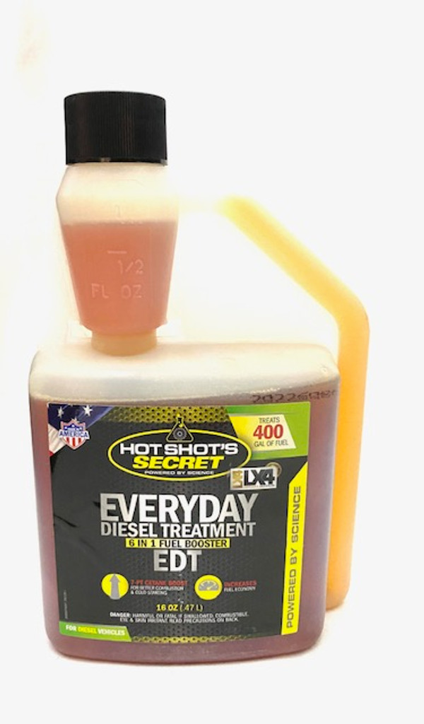 Hot Shot's Secret Everyday Diesel Treatment (EDT) 16oz