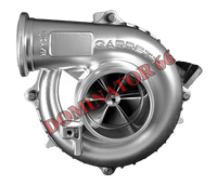 94-97 Power Stroke BDP Dominator 66 - D66 Turbo w/ Billet Compressor Wheel 1.0 A/R Housing