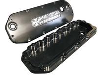 Bean Machine 04.5-07 6.0L Power Stroke Billet Valve Covers With Oil Cap