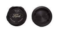 Bean Machine Ford Power Stroke Anodized Push On Oil Cap Cover - Round