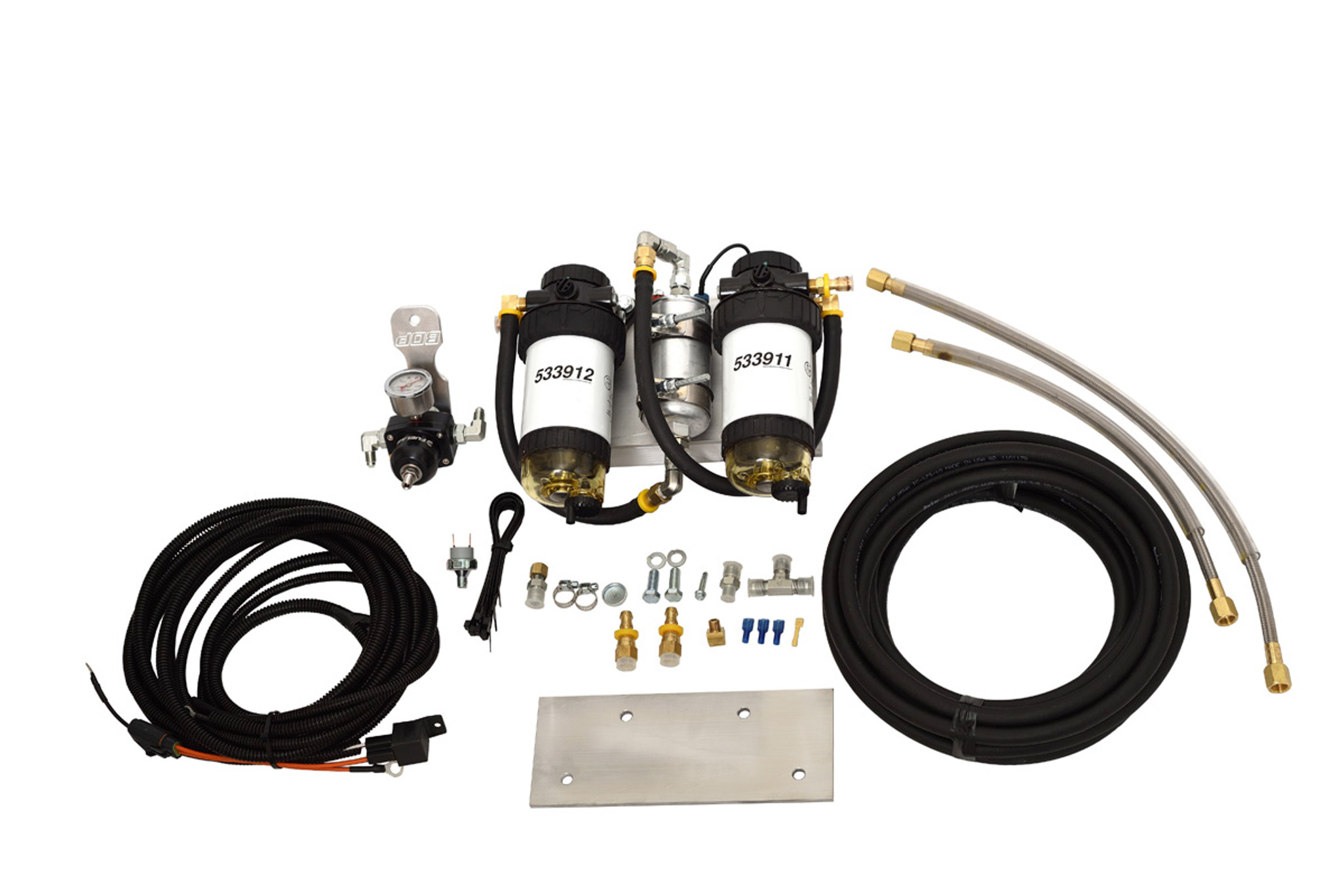 94-97 BDP Power Stroke Complete Single Pump Fuel System