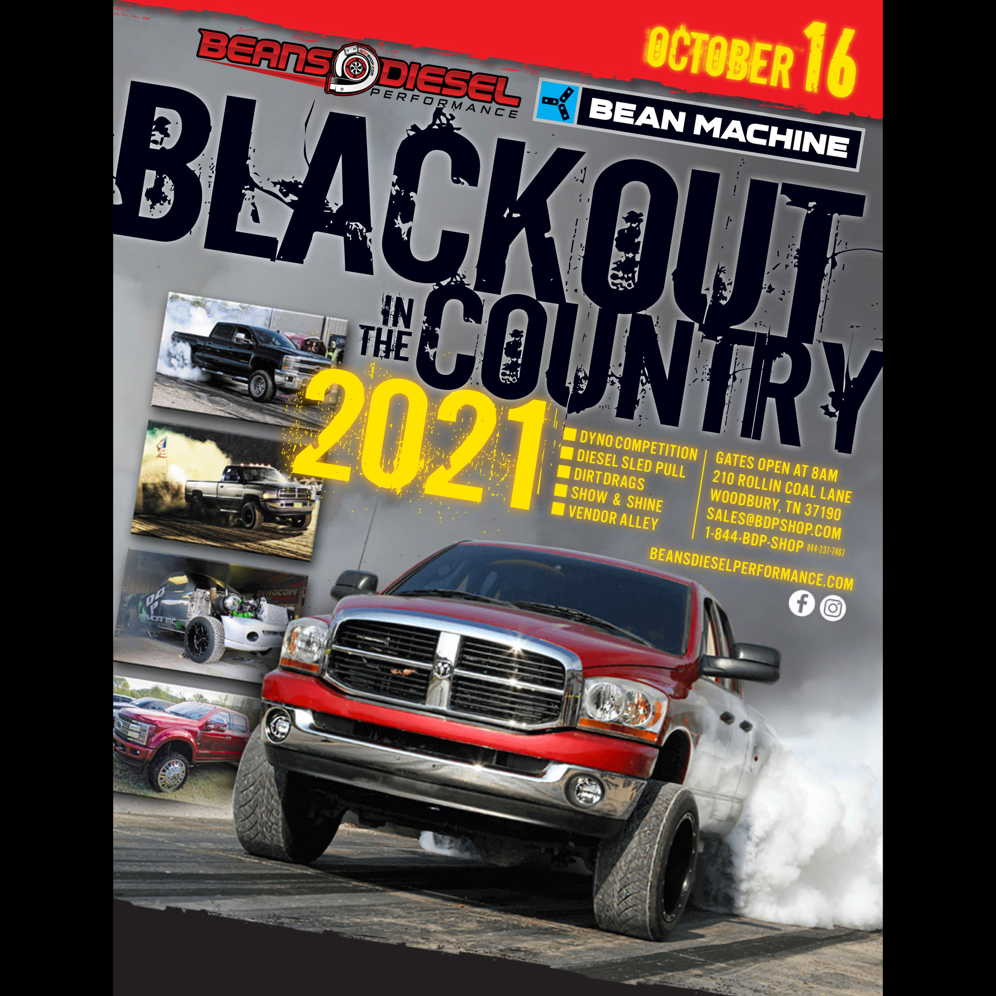 BLACKOUT 2021 OCTOBER 16TH