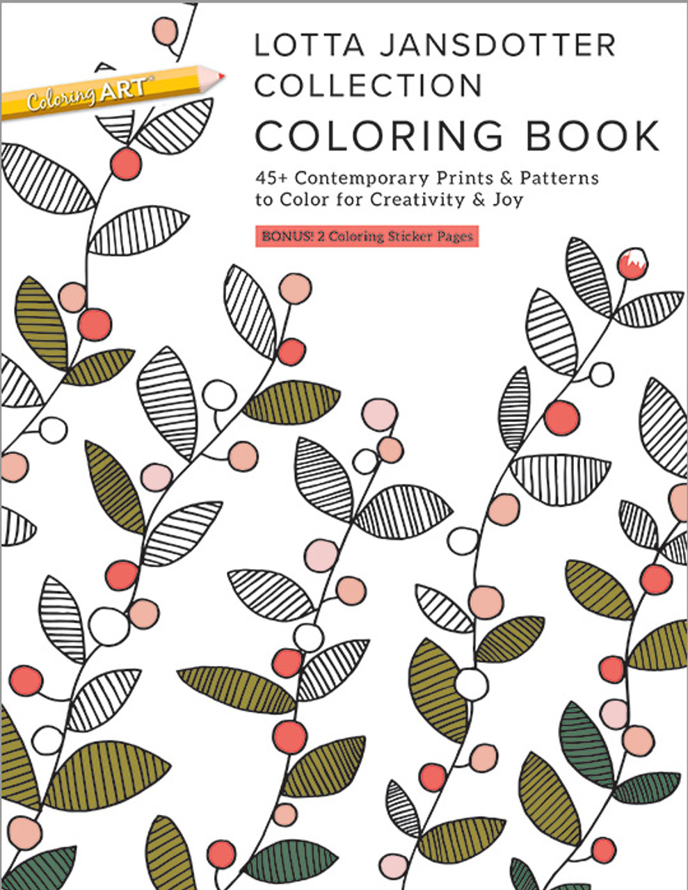 Lotta Jansdotter Collection Coloring Book: 45+ Contemporary Prints ...