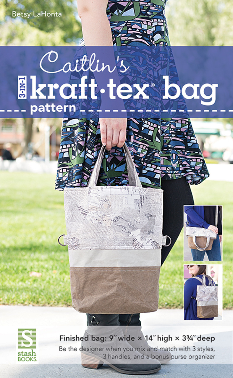Sewing Pattern ~ THE 3-IN-1 BETSY BAG ~ by Betsy LaHonta