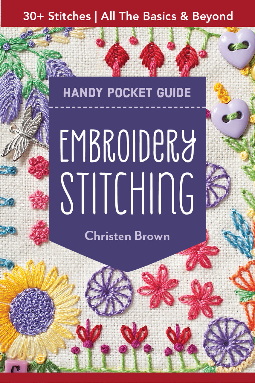 new styles 474be eb8de Get the pocket guide to embroidery that everyone s talking about—a  sixty-four page