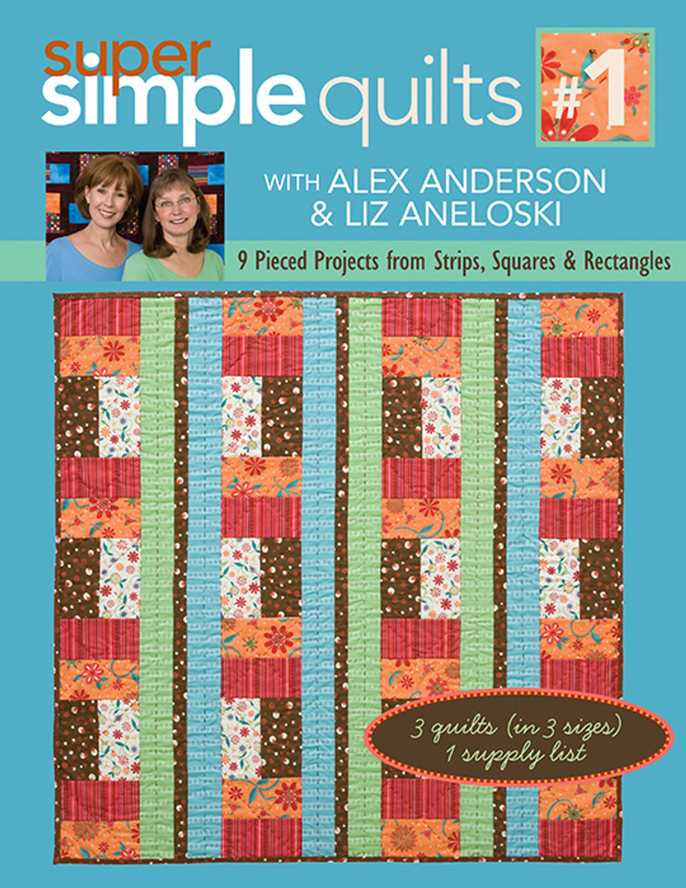 Super Simple Quilts 1 With Alex Anderson Liz Aneloski