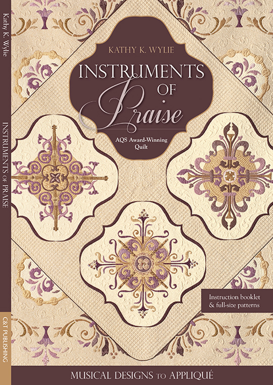 Instruments Of Praise Musical Designs To Appliqué Aqs Award