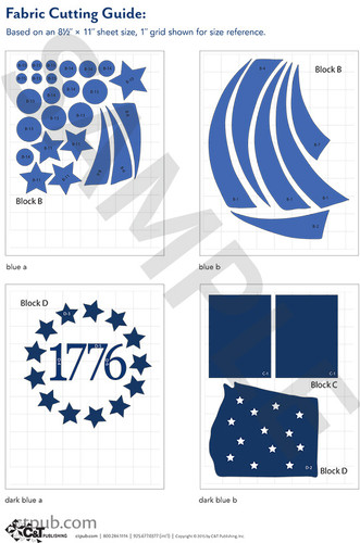 Celebrate The Seasons Fourth Of July Svg File From The Pattern Pack By Cherry Guidry