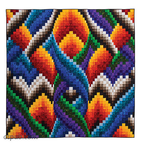 Braided Bargello Quilts