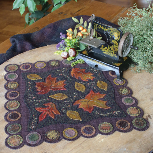 Add warmth and texture to your home with wool appliqué. Sewing in the popular folk-art style, you'll stitch fifteen projects, including thirteen heirloom-worthy table mats and two versions of an Advent calendar, on a cotton or wool base. Learn how reverse appliqué brings depth and color to your handwork without the bulk of additional layers. This guide offers advice on choosing and using wool (even scraps!), plus valuable techniques and tips for wool hand stitchers.