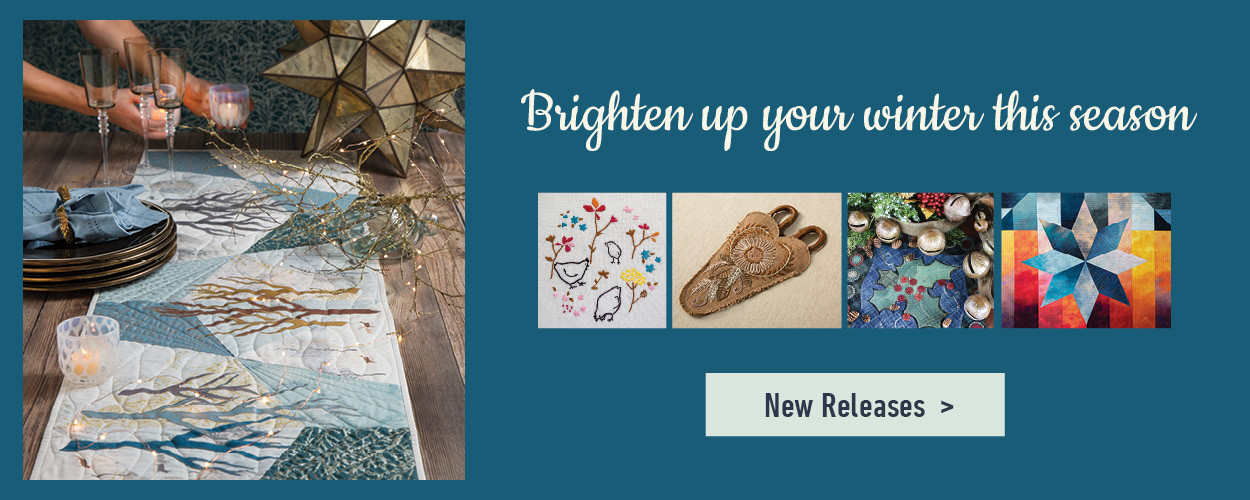 C&T Publishing brighten up your winter best sewing blogger