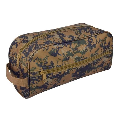 Digital Woodland Large Toiletry Bag