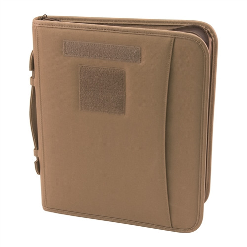 Coyote Field Ready Zippered 3 Ring Binder And Padfolio