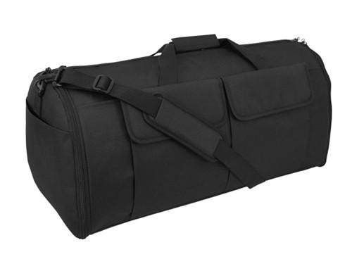 Black Hybrid Garment & Duffle Bag