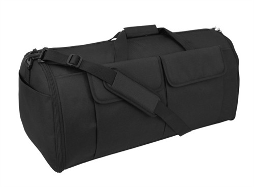 Black Hybrid Garment & Duffle Bag