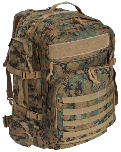 Digital Woodland Marpat Long Range Bugout Bag By S.O.C. 17f291fb306b9