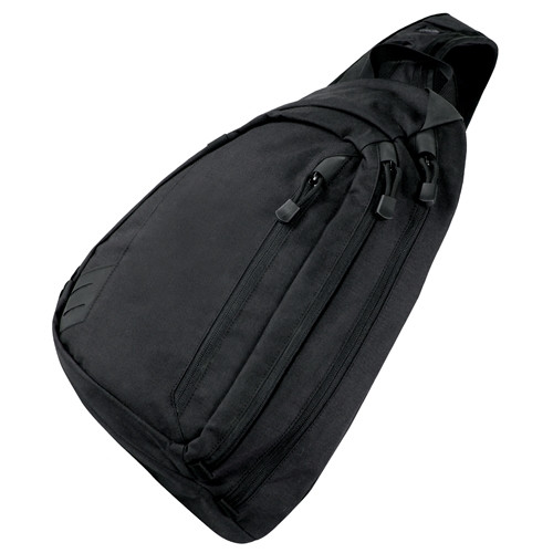 Black Sector Sling Bag By Condor