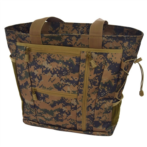 Digital Woodland Deluxe Travel Tote