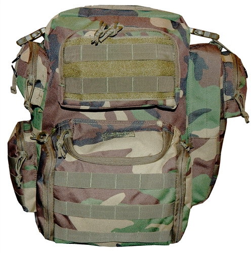 Woodland Camo Improved Matrix Pack