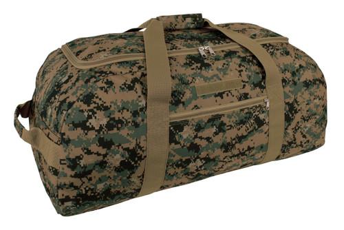 Digital Woodland & Desert 2 in 1:  Reversible Giant Duffle Bag