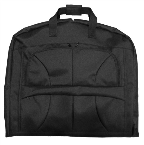 Black Simple Garment Bag