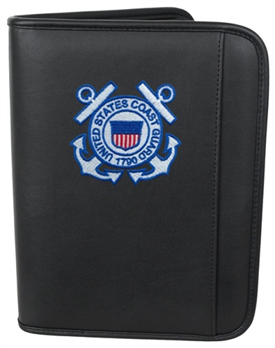 Large Day Planner With Coast Guard Logo