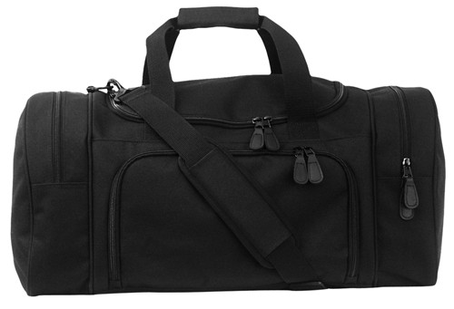 Black Sport Locker Bag