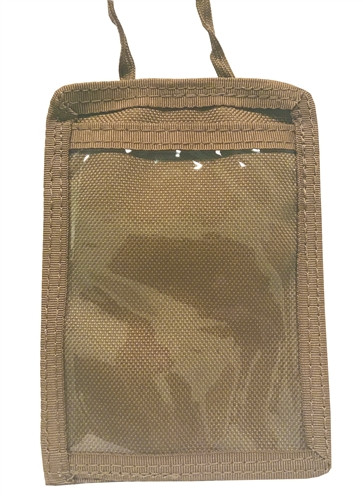 Coyote Military Neck ID Holder