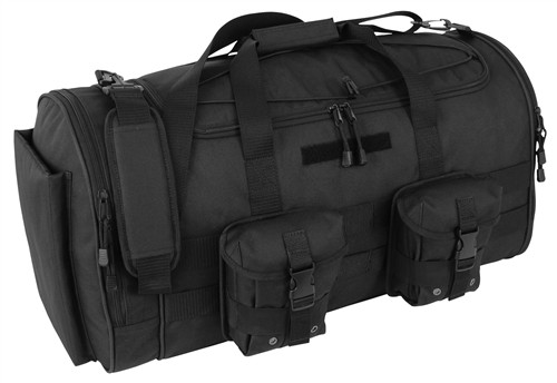 Black COMMANDER Duffle