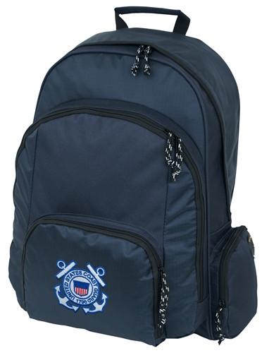 Large Backpack With Coast Guard Logo