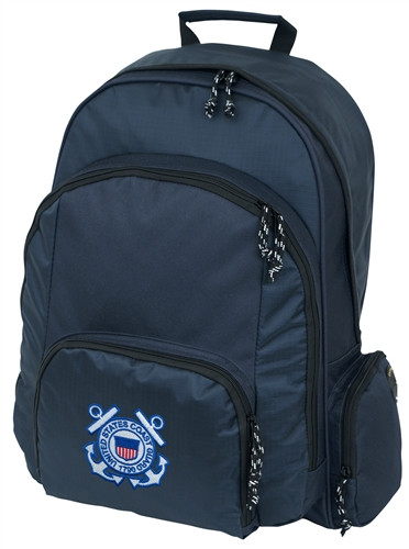 Large Backpack With Coast Guard Logo