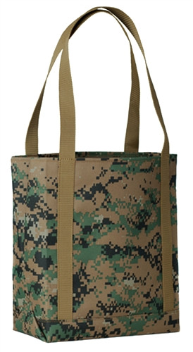 Digital Woodland Tote Bag