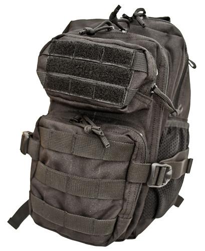 Black Tactical Combat Kids Backpack