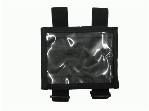 Black Military ID Armband