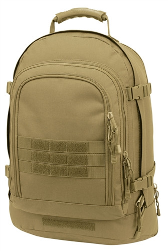 Coyote Brown Improved 3 Day Stretch Backpack
