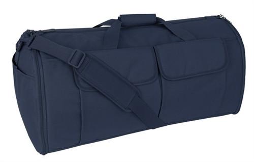 Navy Blue Hybrid Garment & Duffle Bag