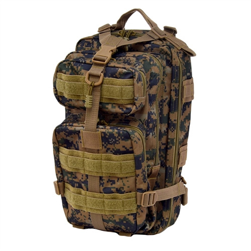 Digital Woodland Small PRESIDIO Assault Pack By Flying Circle